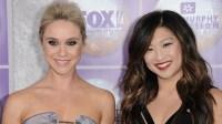 'Glee' Stars Reunite to Celebrate Jenna Ushkowitz and David Stanley's Engagement