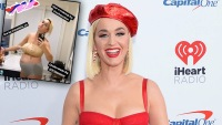 Katy Perry Receives Praise For Sharing Super-Candid Pic Right After Giving Birth