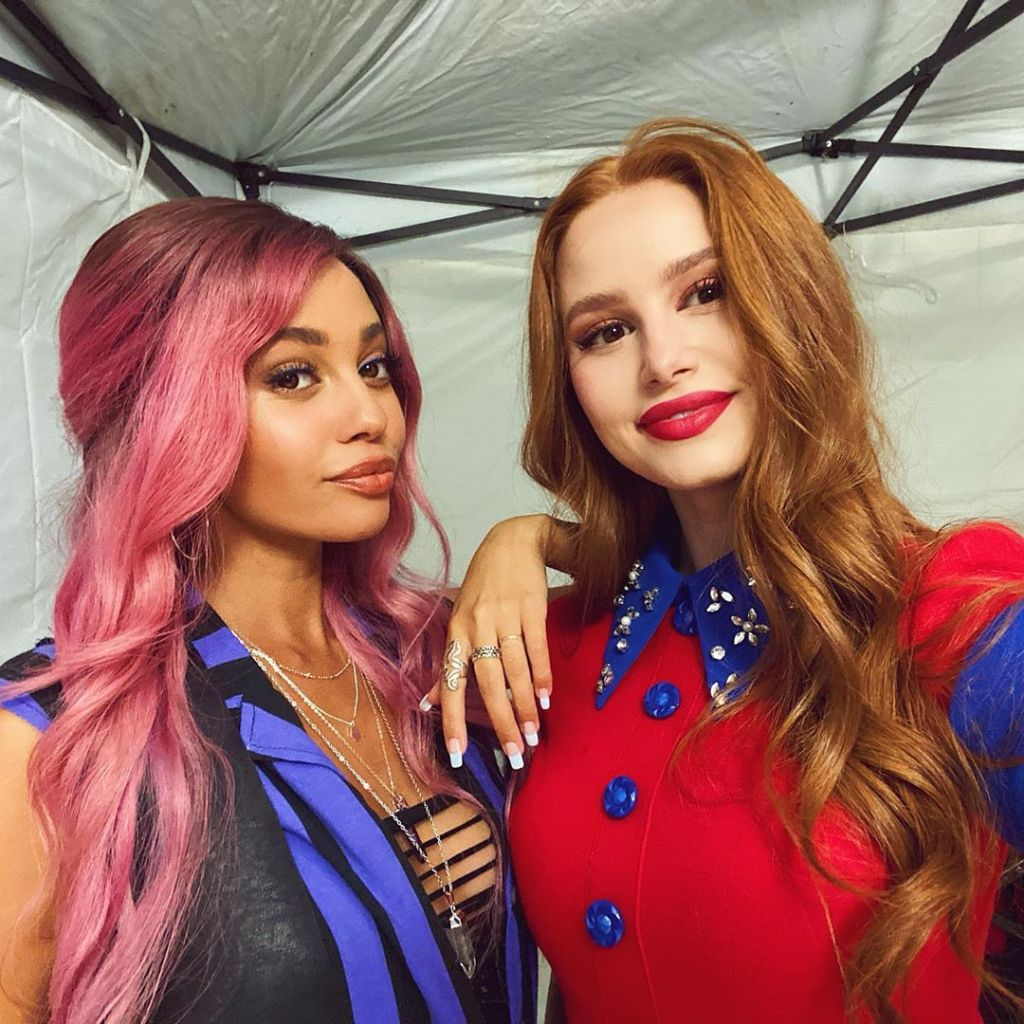 Vanessa Morgan and Madelaine Petsch Reunite as 'Riverdale' Kicks Off Season 5