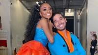 Skai Jackson and 'DWTS' Partner Alan Bersten React to Her Dance Floor 'Slip-Up'