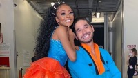 Skai Jackson and 'DWTS' Partner Alan Bersten React to Her Dance Floor 'Slip-Up'