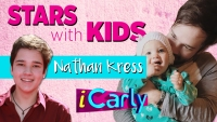 Stars With kids Nathan Kress