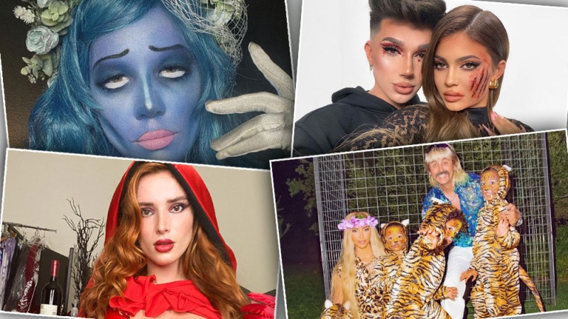 Kylie Jenner, Halsey and More Dress Up for Halloween: Best Costumes from 2020