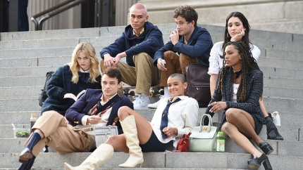 Every Photo of the New 'Gossip Girl' Cast Filming in New York City: See the Pics