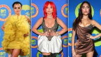 See Your Favorite Stars Slay the MTV EMAs Red Carpet