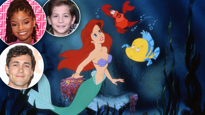 The Live-Action 'Little Mermaid' Is Coming to Disney+: Meet the Full Cast