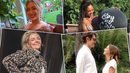 Baby on Board! Celebs Who Are Pregnant or Welcomed Babies in 2021