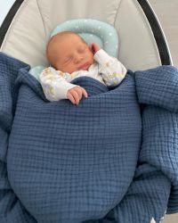 Update: Meghan Trainor and Daryl Sabara's Son Riley Is a Budding Star! See His Baby Photo Album