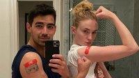 Joe Jonas, Sophie Turner and More Stars Who've Gotten the COVID-19 Vaccine