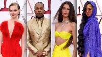Zendaya Slays 2021 Oscars Red Carpet