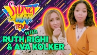 Exclusive: Disney Channel's Ruth Righi and Ava Kolker Test Their Knowledge With 'Sydney to the Max' Trivia