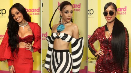 Billboard Music Awards 2021: Doja Cat, H.E.R. and More Slay the Red Carpet