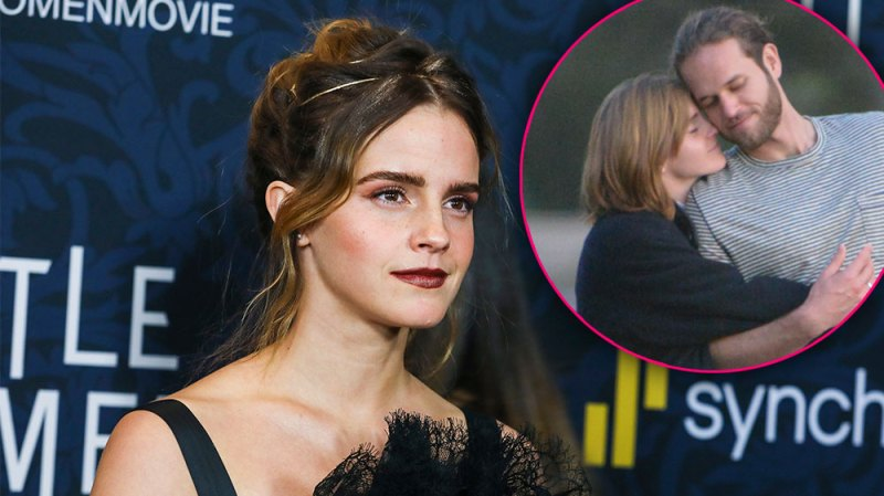'Harry Potter' Star Emma Watson Is Kissed by Boyfriend Leo Robinton in Rare PDA-Filled Photos