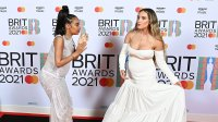Pregnant Little Mix Members Perrie Edwards and Leigh-Anne Pinnock's Baby Bump Album