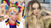 Here's How Your Favorite Celebrities Are Celebrating Pride Month: JoJo Siwa, Dove Cameron and More