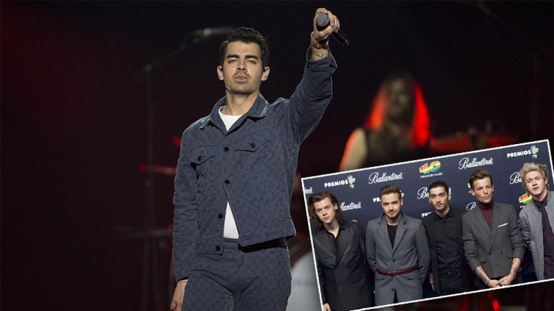 Joe Jonas Is 'Fine' With One Direction Beating the Jonas Brothers in Battle of the Bands Spin Class