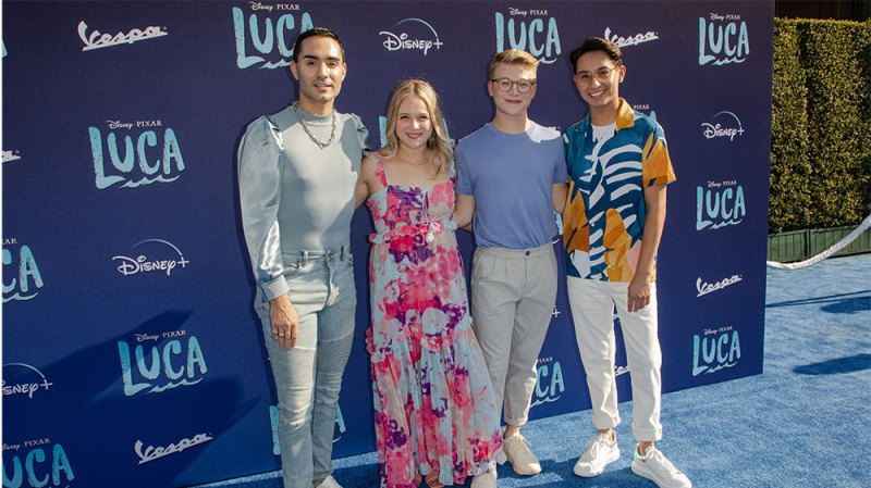 The 'HSMTMTS' Cast and More Disney Stars Slay the 'Luca' Premiere Red Carpet: Photos