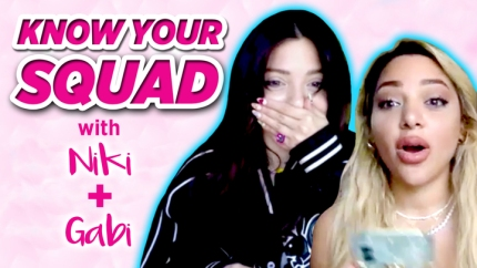 Watch YouTube-Famous Twins Niki and Gabi DeMartino Find Out How Well They Know Each Other