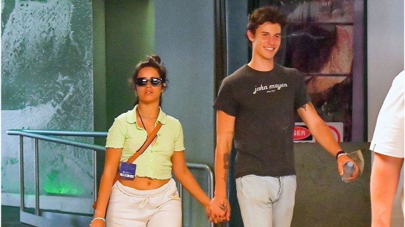 Shawnmila's Day Out! Shawn Mendes and Camila Cabello Hold Hands During Universal Studios Outing