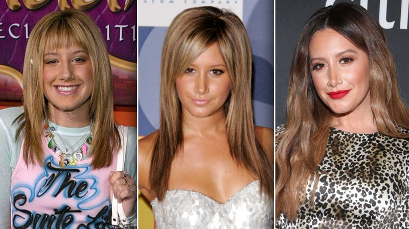 From the Tipton Hotel to East High! Ashley Tisdale's Transformation in Photos