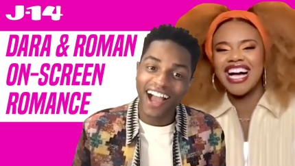 Dara Renee and Roman Banks Share 'Really Special' Scene as 'HSMTMTS' Characters Kourtney and Howie