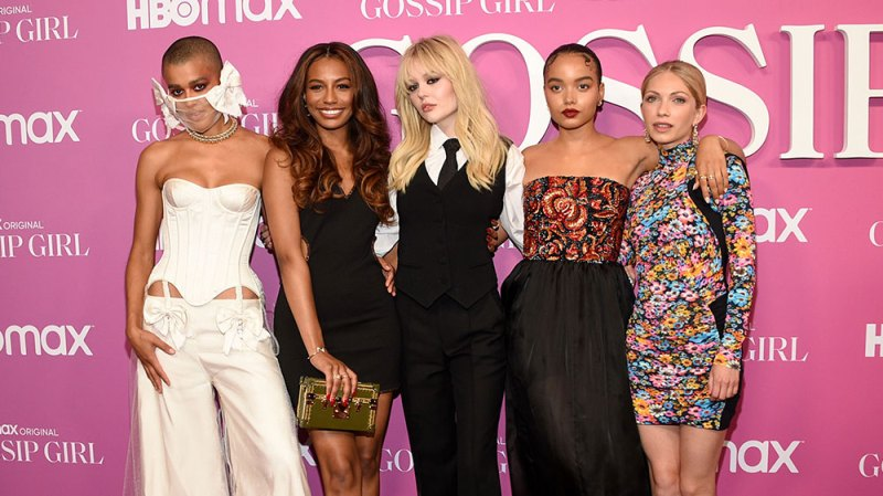 Thomas Doherty and the 'Gossip Girl' Cast Stepped Out for a Star-Studded Premiere: Photos