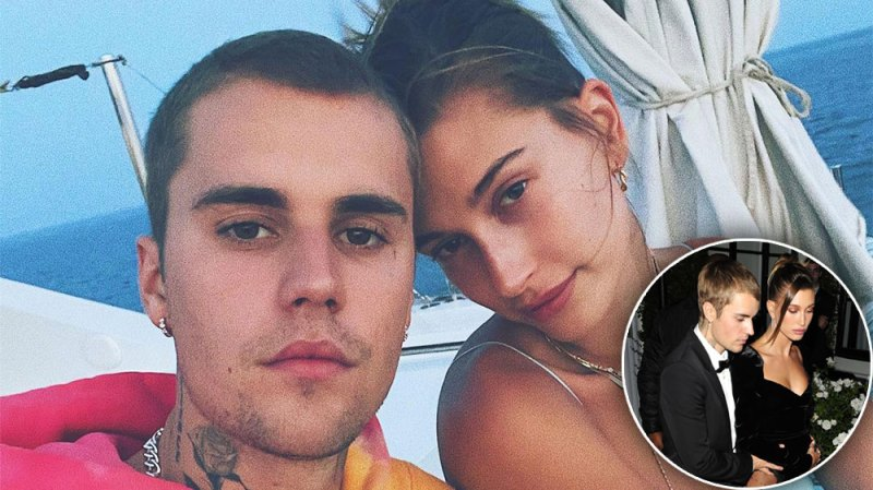 Justin Bieber Holds on to Wife Hailey Baldwin at Black Tie Event: Photos
