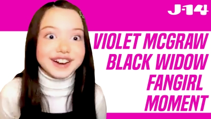 'Black Widow' Star Violet McGraw Dishes on Her 'Love' for Marvel Movies