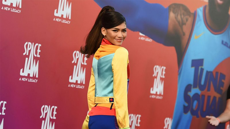 Zendaya Channels Her Inner Lola Bunny at 'Space Jam: A New Legacy' Premiere: Red Carpet Photos
