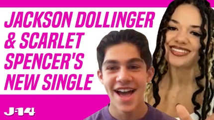 Jackson Dollinger and Scarlet Spencer Talk Showcasing 'Young Love' in the 'I'm Yours 2' Music Video