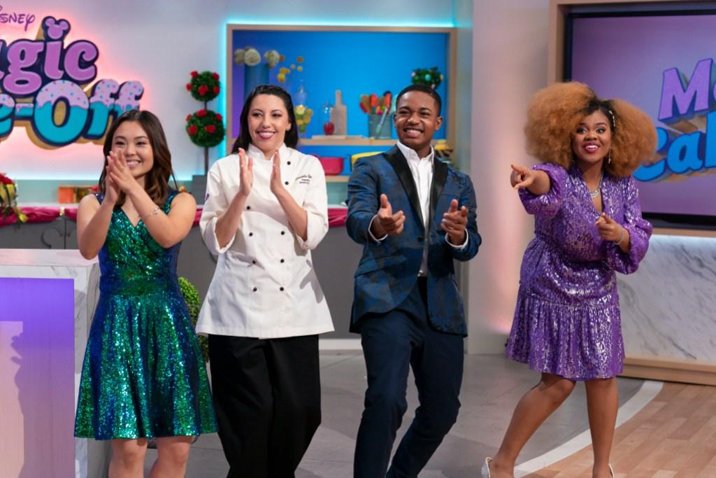 Dara Renee and Isaac Ryan Brown Gush Over 'Crazy' Experience Hosting Disney's 'Magic Bake-Off'