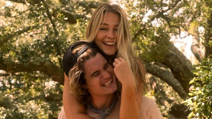 Chase Stokes and Madelyn Cline Get Candid About Working Together as a Couple on 'Outer Banks'