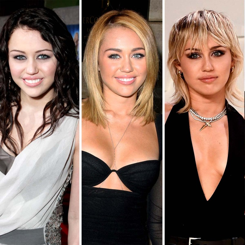Miley Cyrus Hair Transformation Over Years From Disney Channel Now