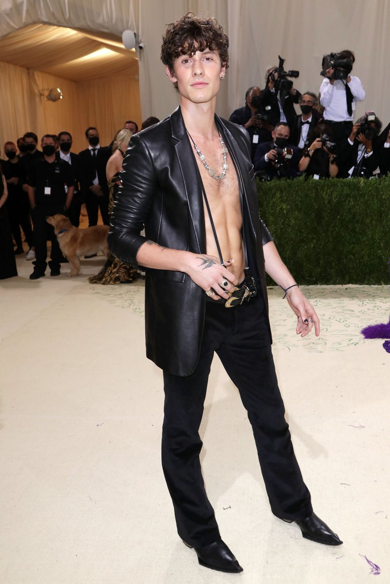 Shawn Mendes Hottest Pics All Time Met Gala 2021
