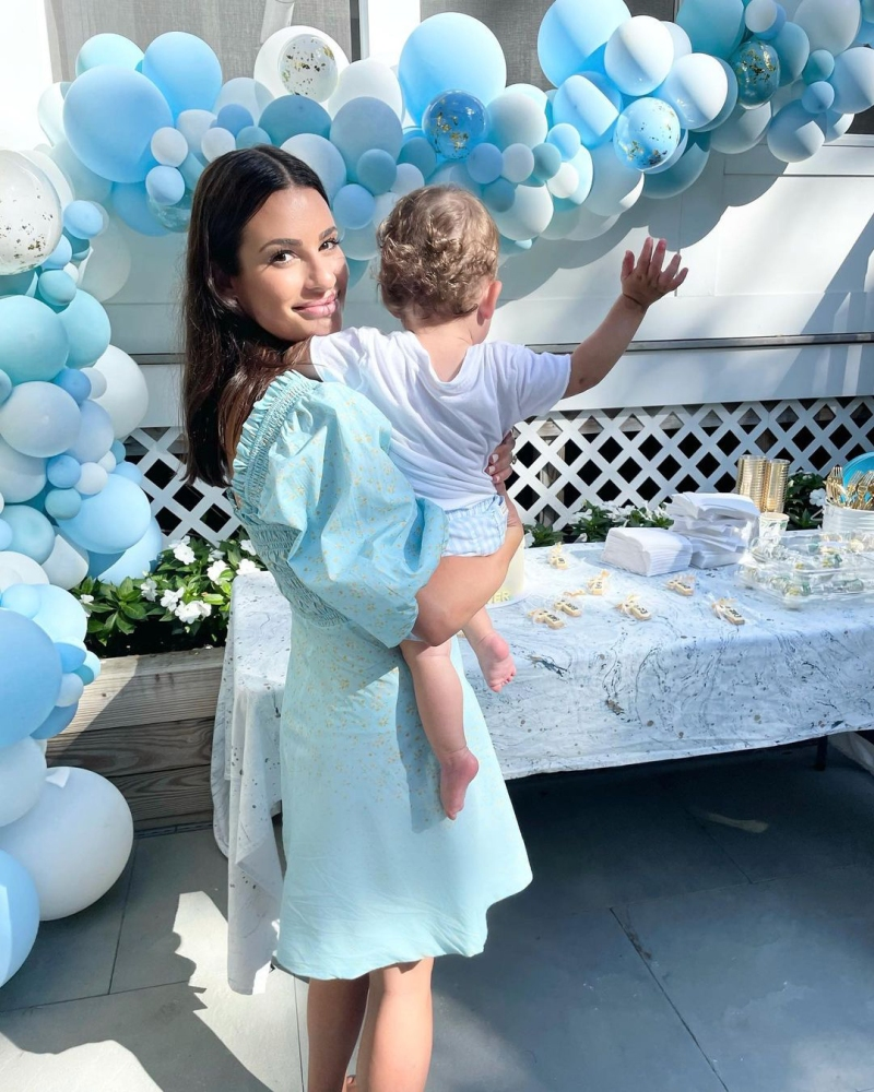 From Glee Star to Mom! The Cutest Photos of Lea Michele With Son Leo