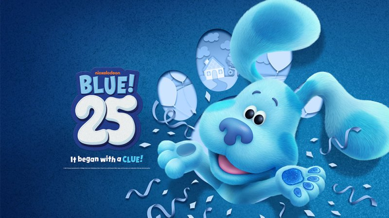 'Blue's Clues' Celebrates 25th Anniversary With New 'Blue's Clues & You' Movie: What to Know