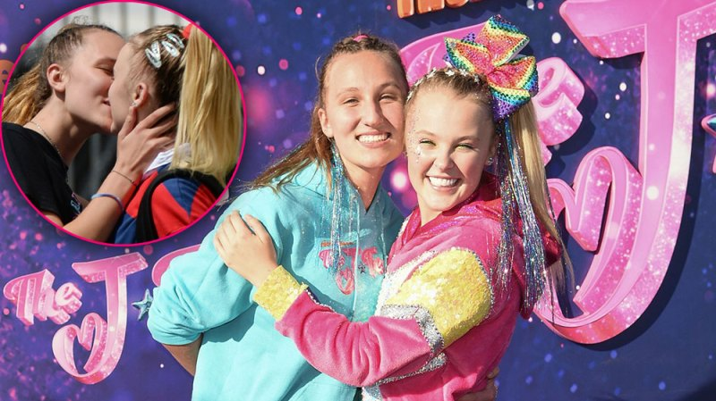 Sharing a Smooch! Every Time JoJo Siwa and Girlfriend Kylie Prew Packed on the PDA