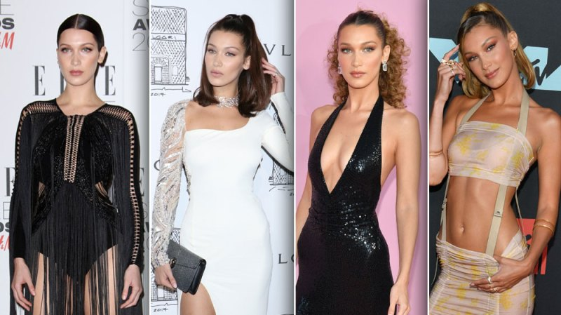 Bella Hadid's Best Red Carpet Looks Over the Years: Photos
