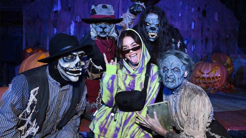Spooky Season! Vanessa Hudgens, Lana Condor and More Stars Step Out for Horror Night: Photos