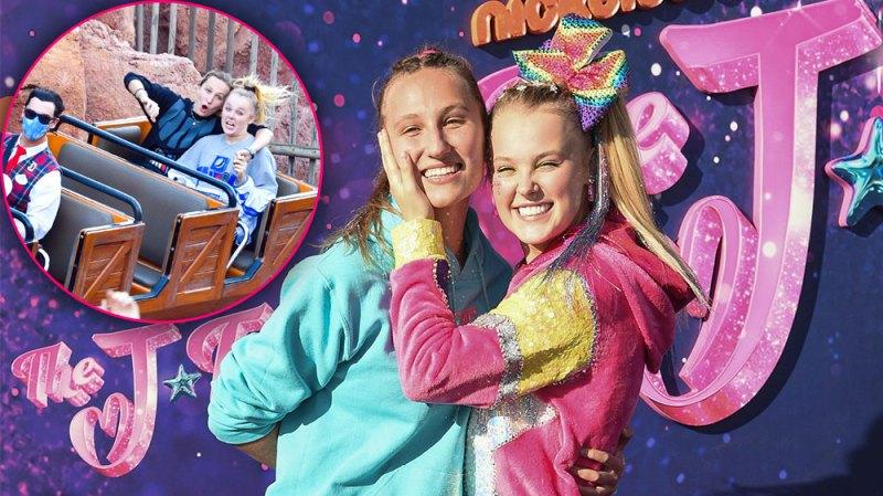 Disney Darlings! Photos of JoJo Siwa and Girlfriend Kylie Prew Showing Off Their Love at Disneyland