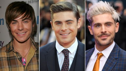 Zac Efron Has Changed a Lot Since His 'High School Musical' Days — See His Transformation in Photos